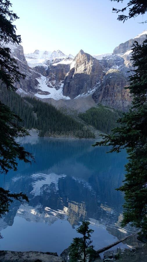 Lac Morraine photographie stock libre de droits
