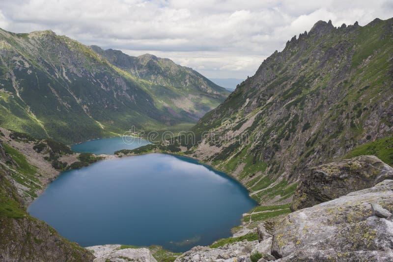 Lac Morskie Oko photo libre de droits