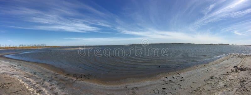 Lac mort Epecuen image libre de droits