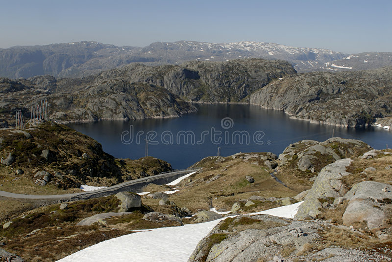 Lac mountain photos libres de droits
