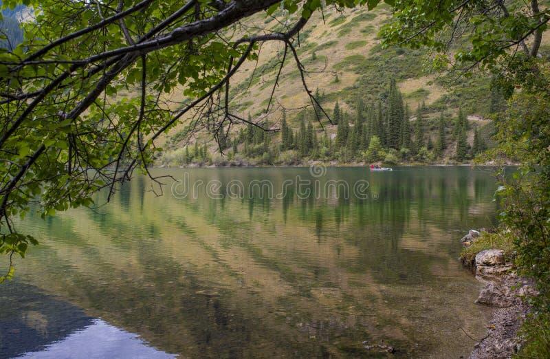 Lac mountain, Kazakhstan image stock