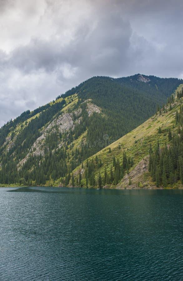 Lac mountain, Kazakhstan photo stock