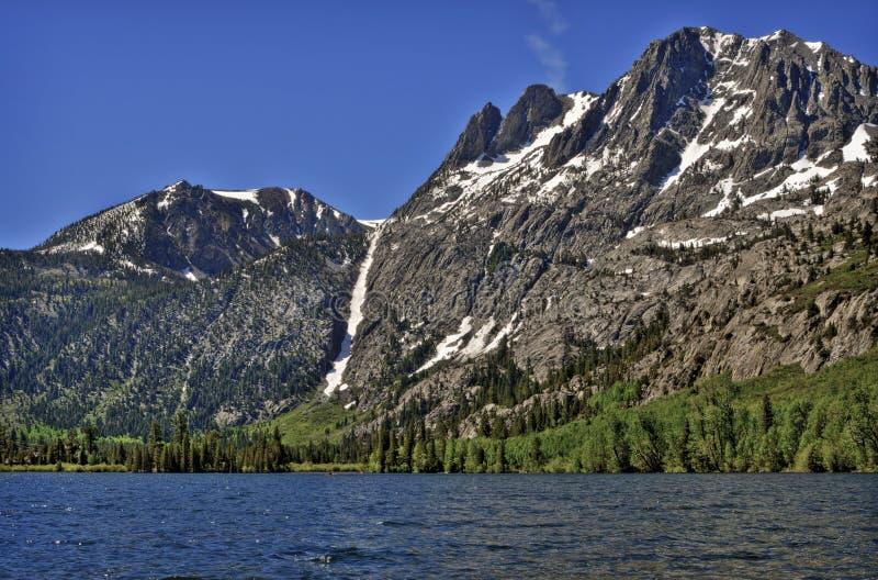 Lac mountain, la Californie image stock