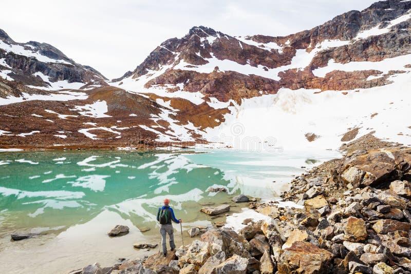 Lac mountains photo stock