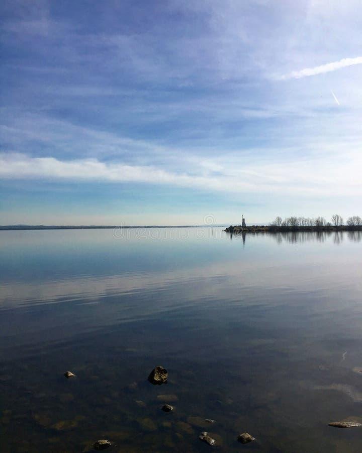 Lac Neagh chez Ballyronan photos libres de droits