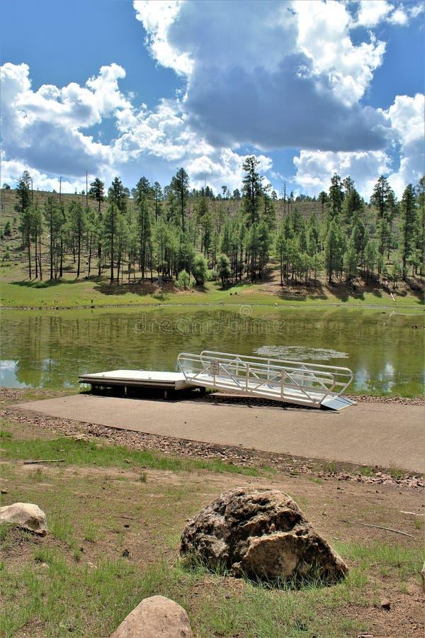 Lac noir canyon, le comté de Navajo, Arizona, Etats-Unis, réserve forestière d'Apache Sitegreaves images libres de droits