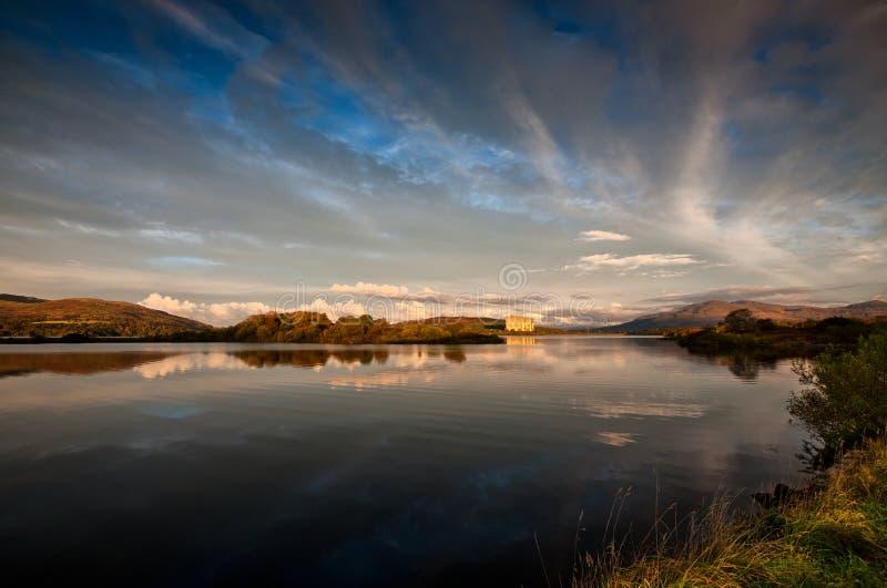Lac nucléaire photographie stock