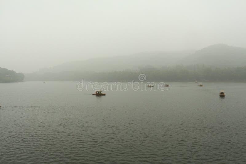 Lac occidental à Hangzhou image libre de droits
