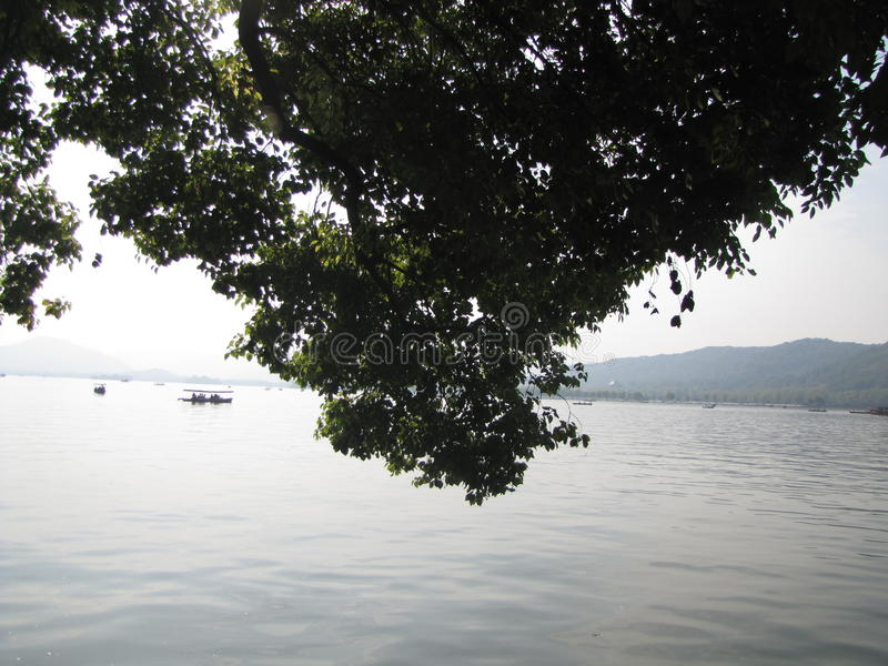 Lac occidental photo libre de droits