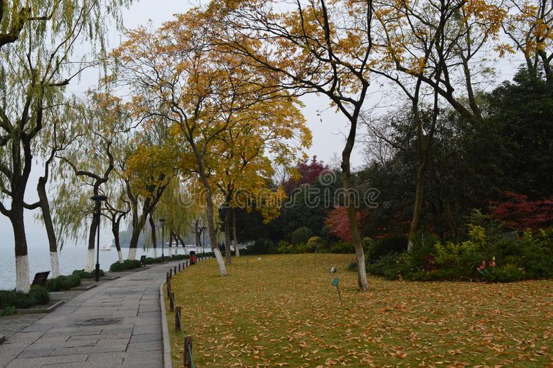 Lac occidental Hangzhou photographie stock libre de droits
