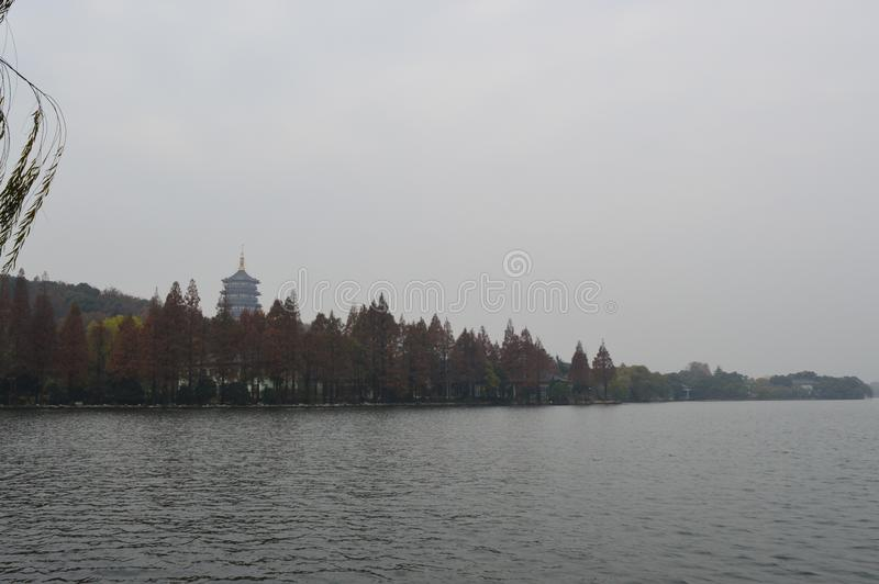 Lac occidental Hangzhou image stock