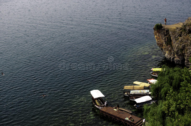 Lac Ohrid images stock