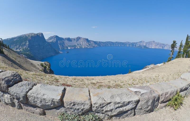 Lac Orégon crater images libres de droits