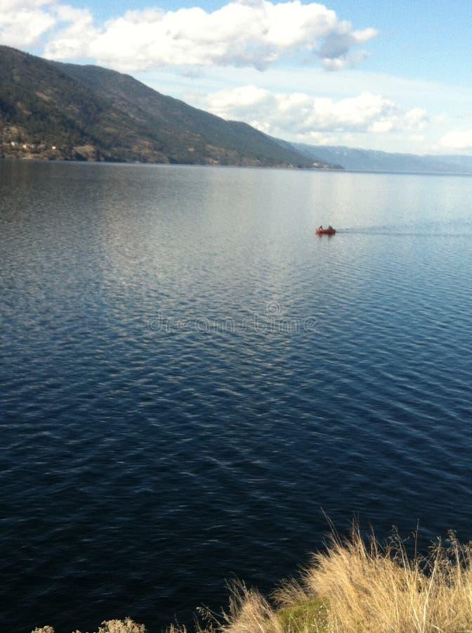 Lac paisible photographie stock libre de droits