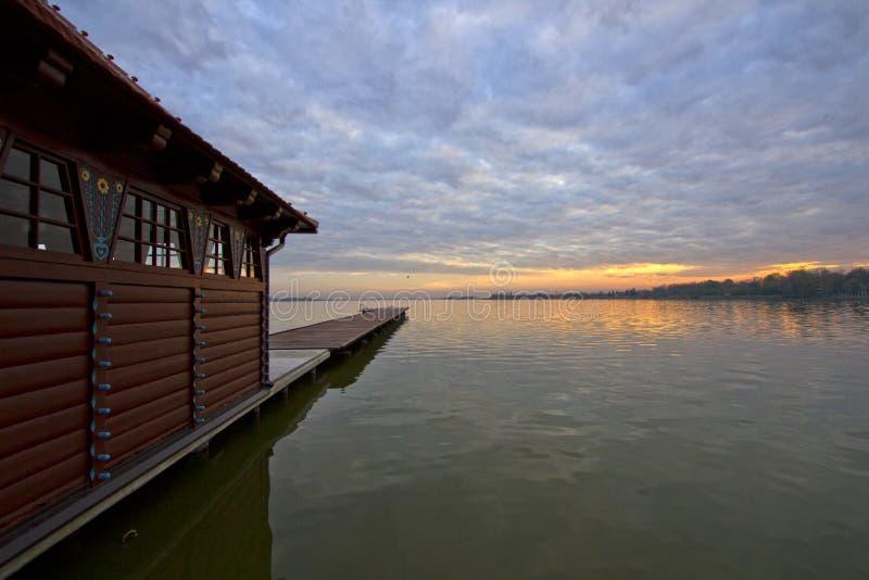 Lac Palic image libre de droits