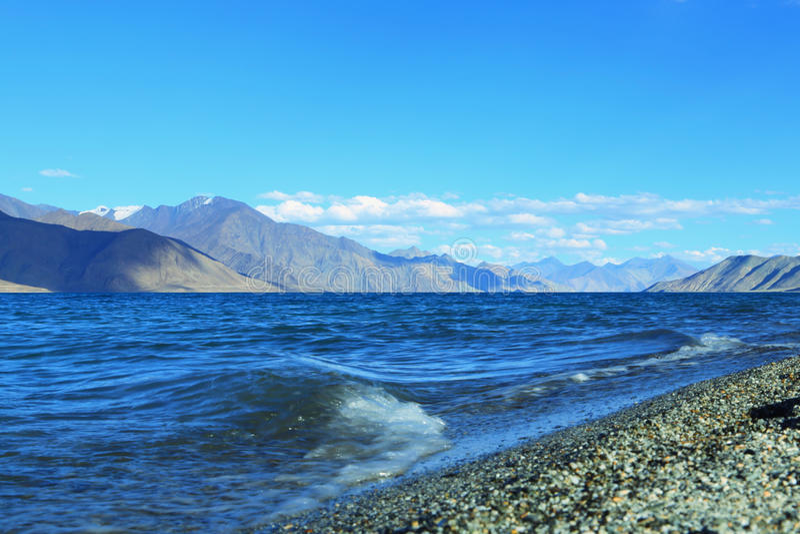 Lac Pangong photos libres de droits