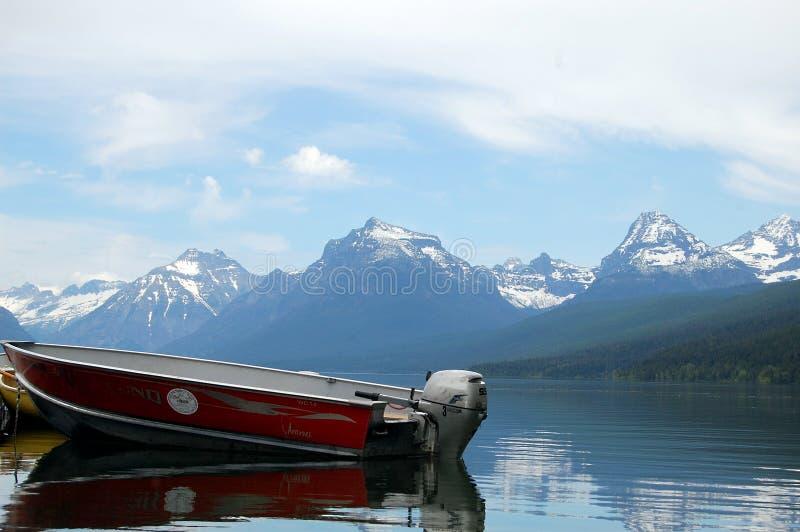 Lac park national de glacier photos libres de droits
