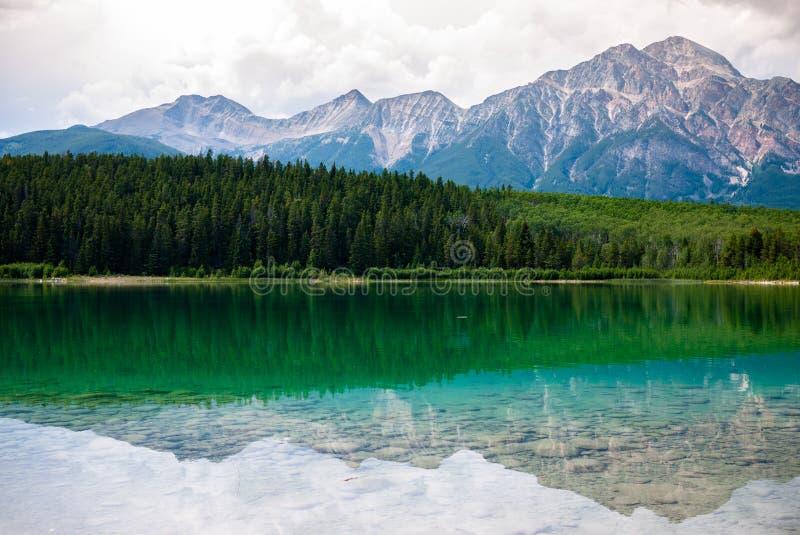 Lac Patrcia en jaspe images stock
