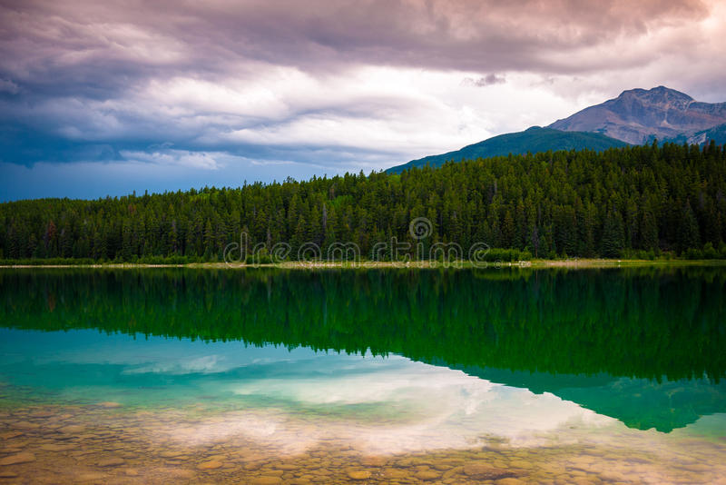 Lac Patrcia en jaspe image libre de droits