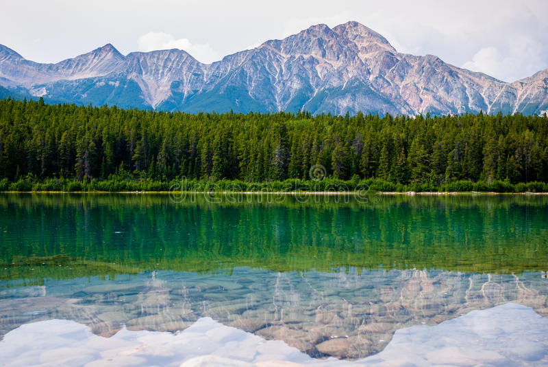 Lac patricia en jaspe photos libres de droits
