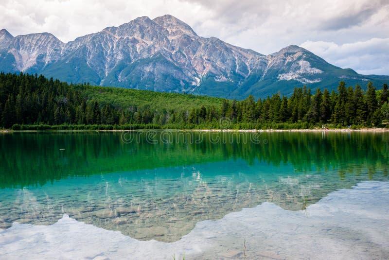 Lac patricia en jaspe photo libre de droits