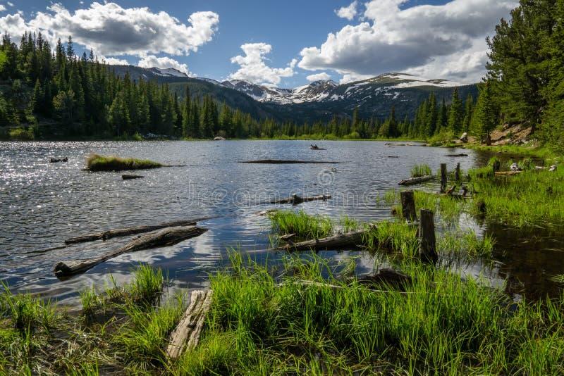 Lac perdu - le Colorado photographie stock