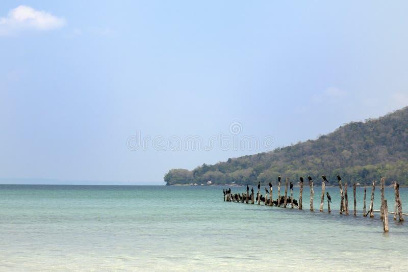 Lac Peten Itza au Guatemala images stock