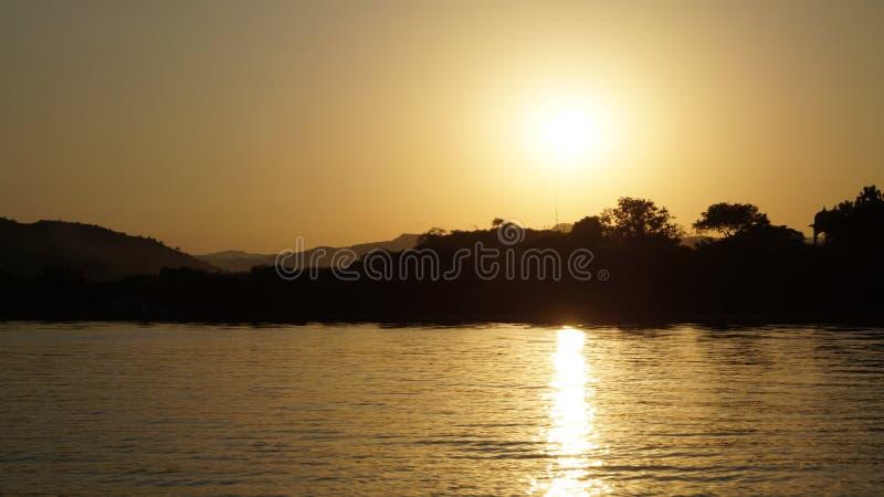 Lac Pichhola image stock