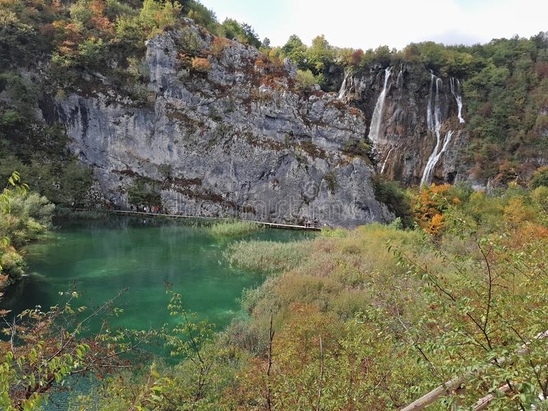 Lac Plitvice, Croatie photo libre de droits