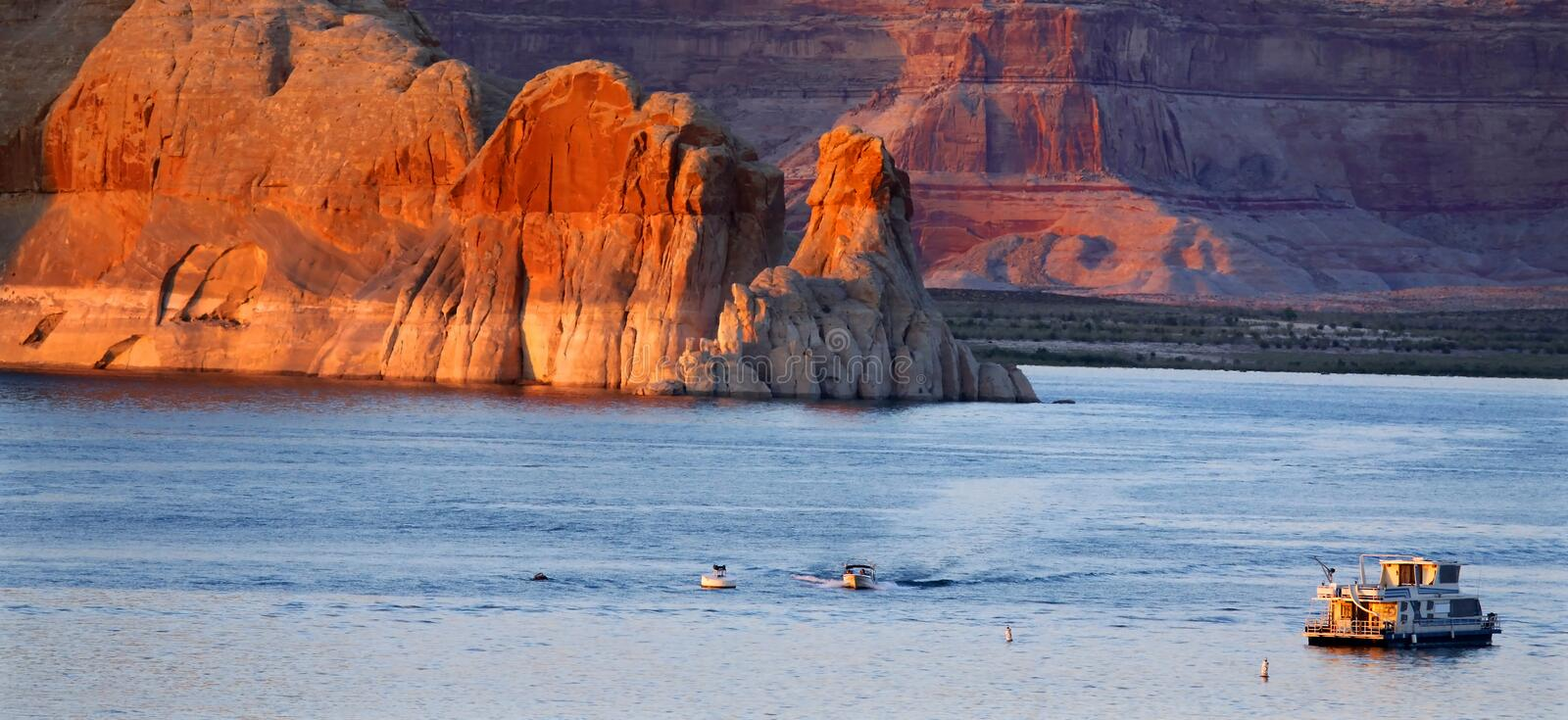 Lac Powell photo stock