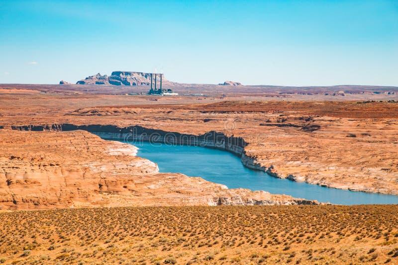Lac Powell, Arizona, Etats-Unis photo libre de droits
