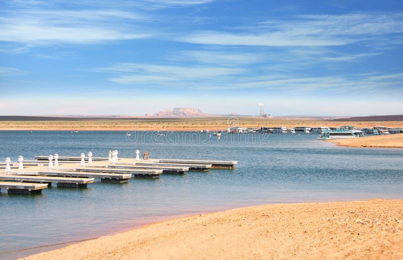 Lac Powell près de page Arizona image stock