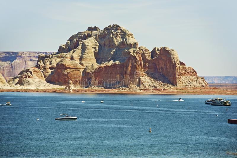 Lac Powell Reservoir photo libre de droits