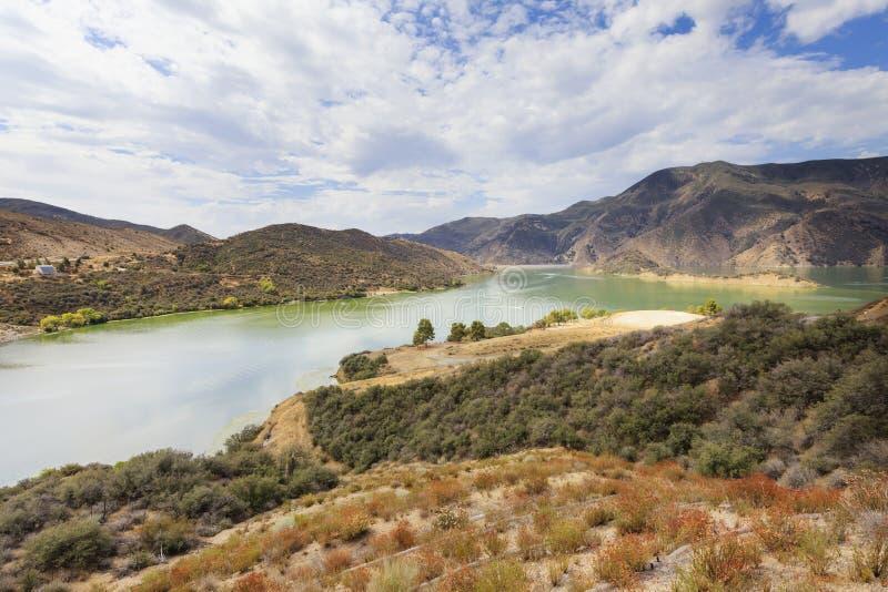 Lac pyramid, la Californie, Etats-Unis photographie stock