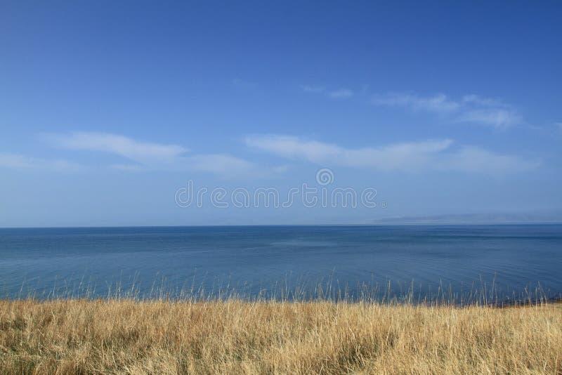 Lac Qinghai photo libre de droits