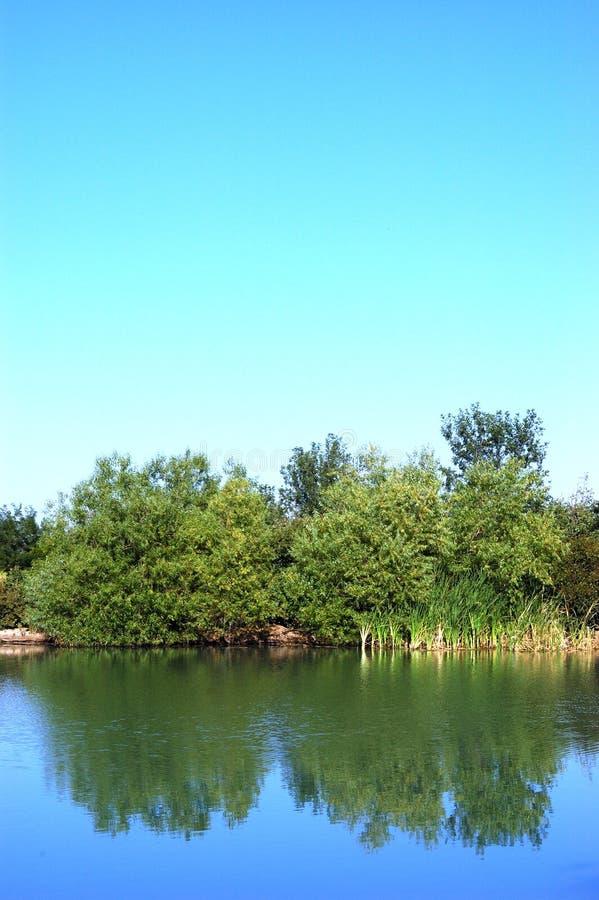 Lac reflection images libres de droits