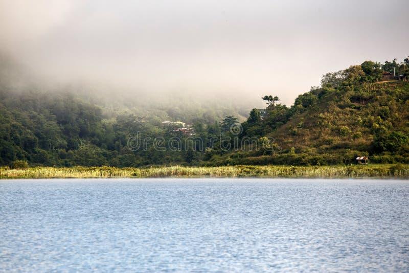 Lac Rhi, Myanmar (Birmanie) photo stock