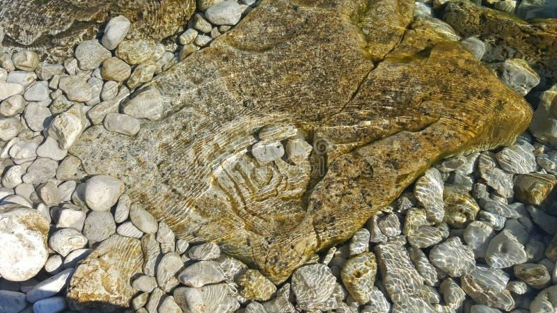 Lac rocheux image libre de droits