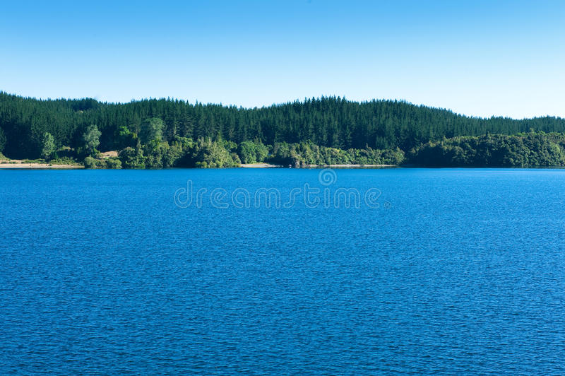 Lac Rotoma photo stock