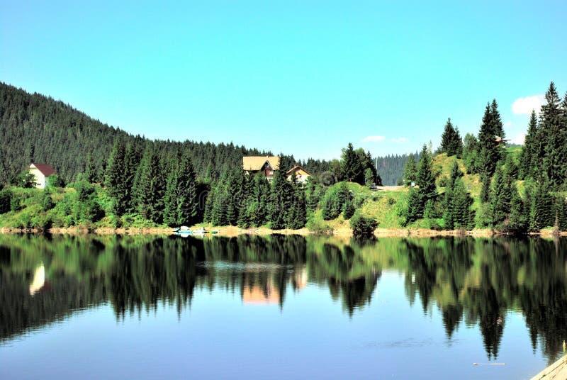 Lac Roumanie Belis photographie stock libre de droits