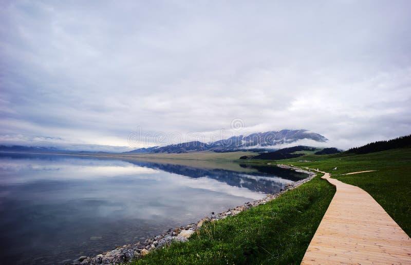 Lac Sailimu photographie stock
