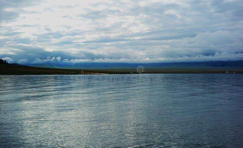 Lac Sailimu photographie stock libre de droits