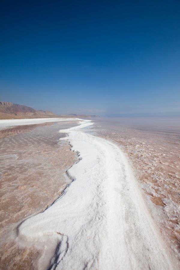 Lac salt photographie stock libre de droits