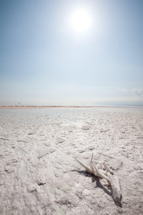 Lac salt photo stock