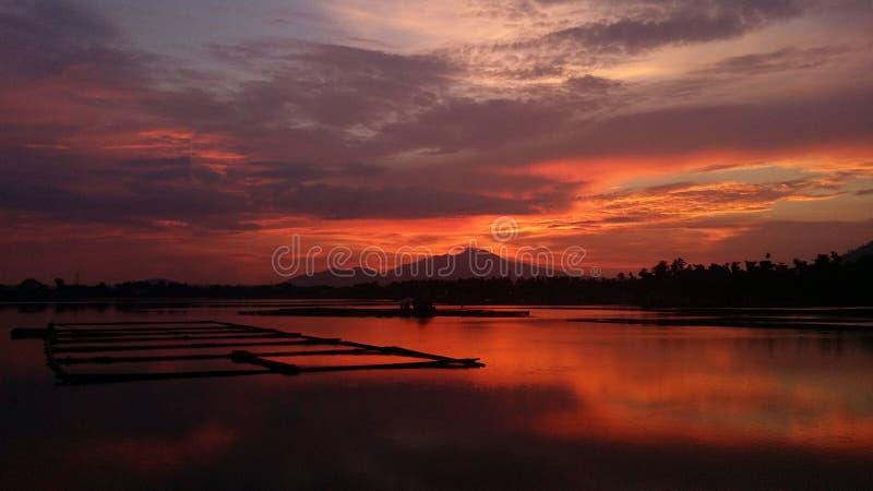 Lac Sampaloc images libres de droits