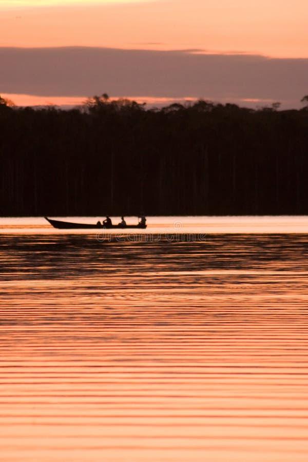 Lac Sandoval photographie stock