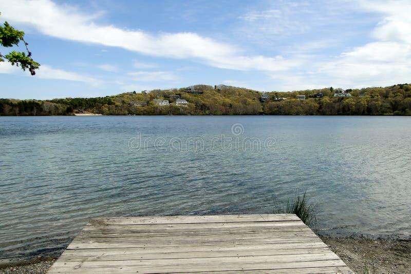 Lac Scargo, Dennis, le Massachusetts, Cape Cod photo libre de droits