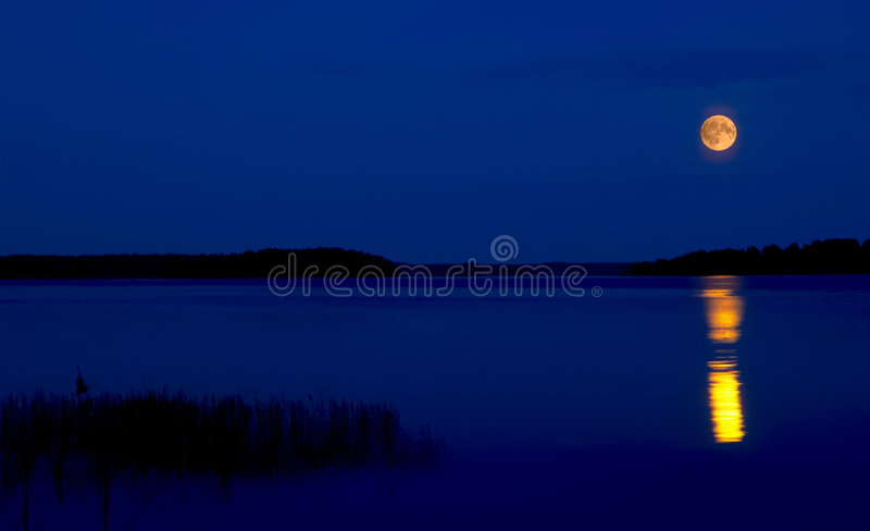 Lac Seliger images stock