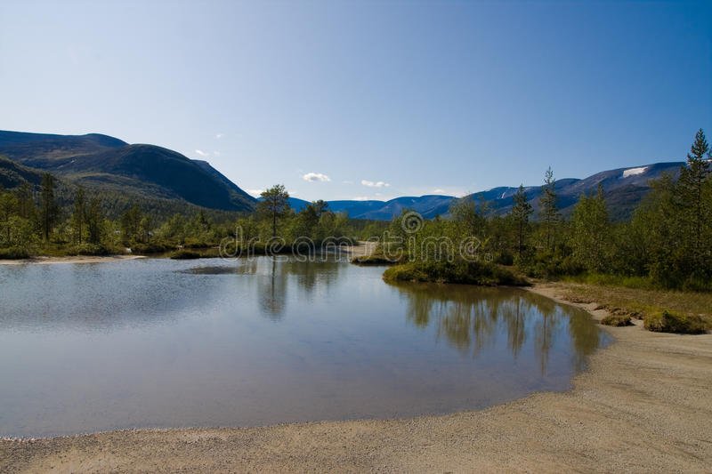 Lac Shuchje photo stock