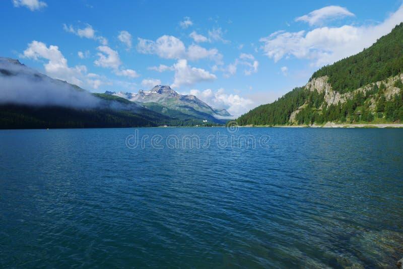 Lac Silvaplana photo libre de droits